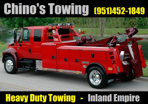 chino's towing - heavy duty towing san bernardino