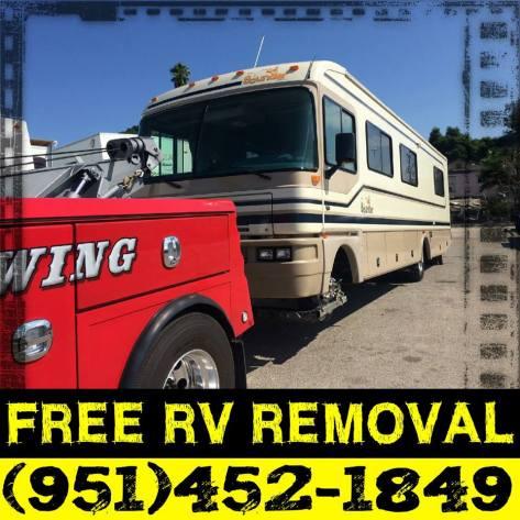 free rv removal