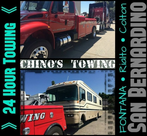 chinos towing service - rialto